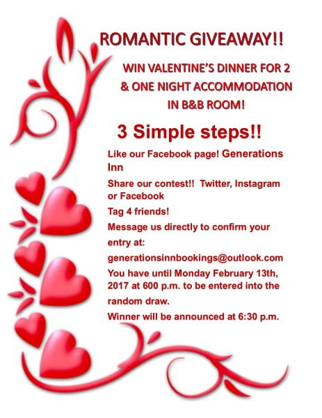 Romantic Valentine Give Away!