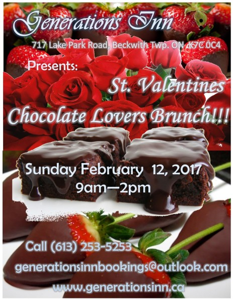 Chocolate Lover's Brunch