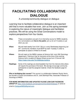 A COURSE IN DIALOGUE