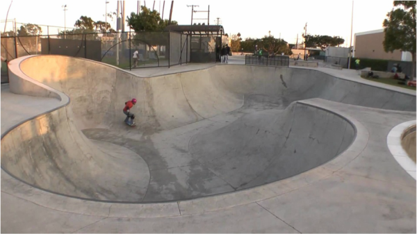 The Cove Skate Park 1433 Olympic Blvd  Santa Monica, CA 90404