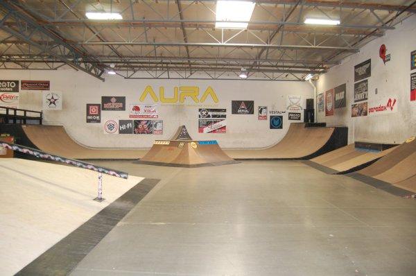 Aura Skatepark Vista 1074 La Mirada Court Vista, California, United States, 92081