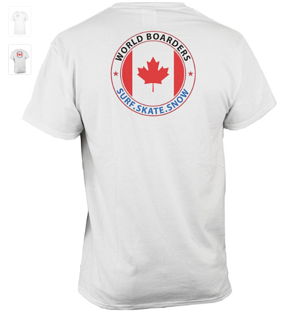 World Boarders Canada Apparel