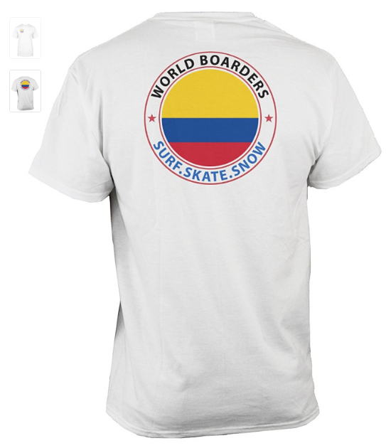World Boarders Columbia Apparel