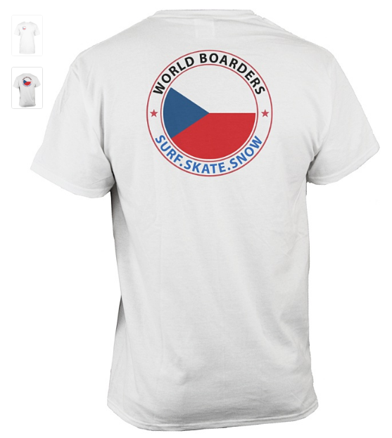 World Boarders Czech Apparel