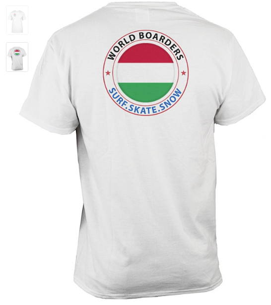 World Boarders Hungary Apparel