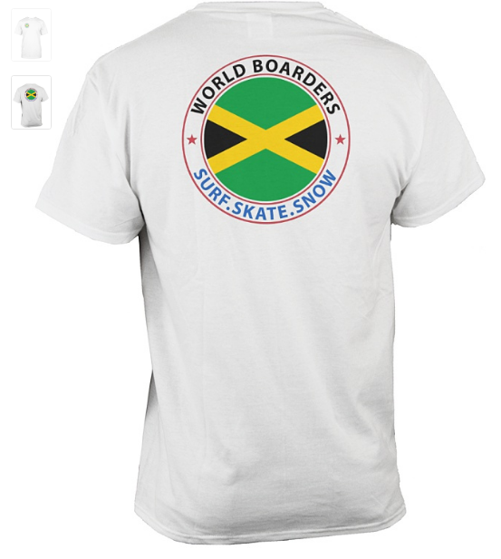World Boarders Jamaica Apparel