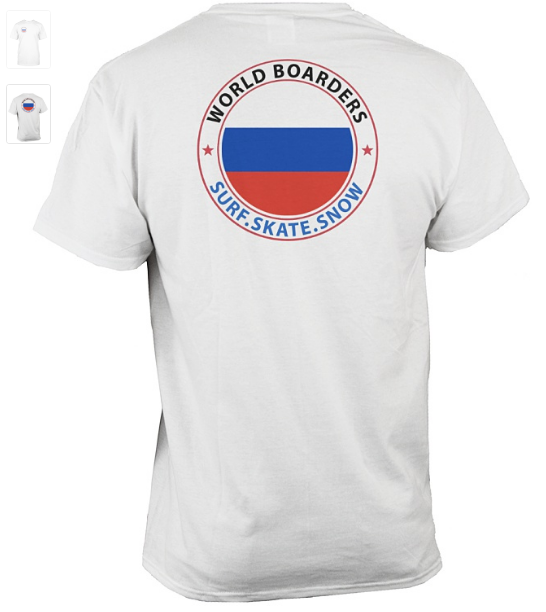 World Boarders Russia Apparel