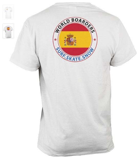 World Boarders Spain Apparel
