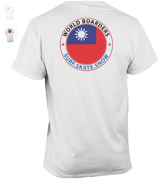 World Boarders Taiwan Apparel