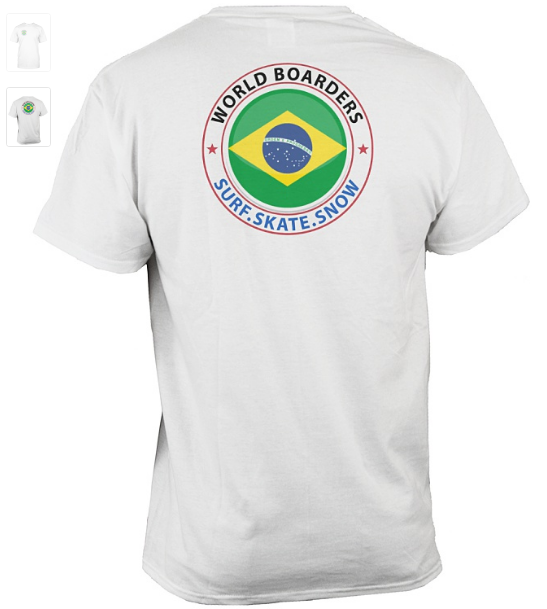 World Boarders Brazil Apparel