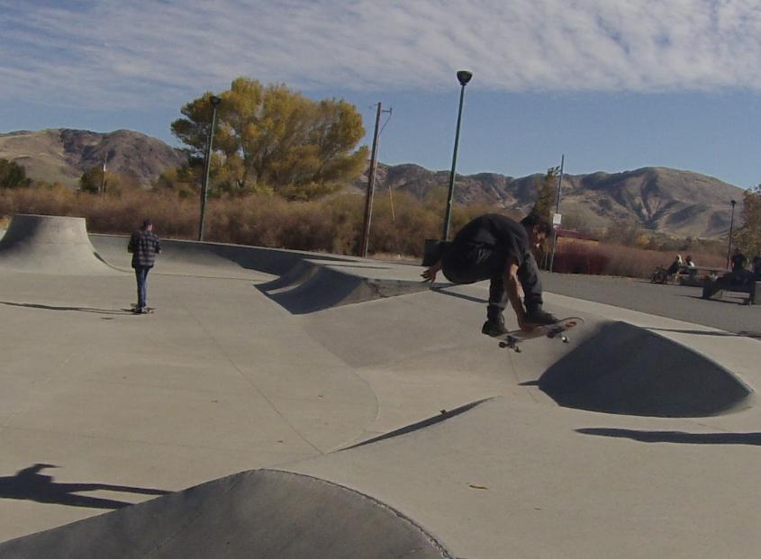 MIRA LOMA Skatepark Locals, Reno, NV