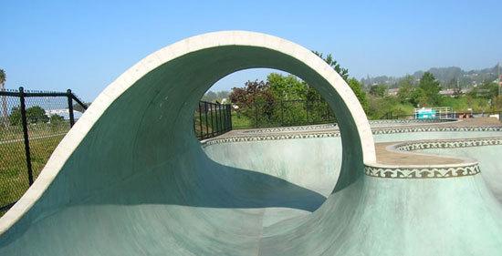 Santa Cruz Skatepark , Santa Cruz, CA
