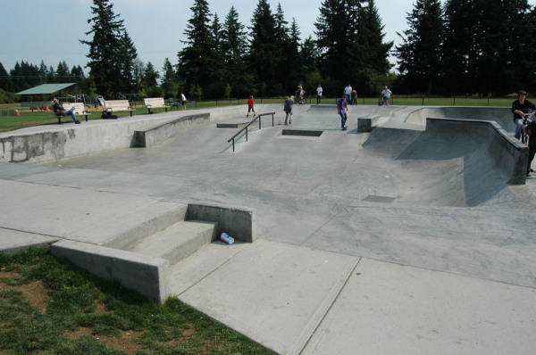 Pacific Community Skatepark Vancouver, WA