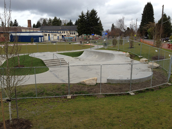 Crown Hill Skatepark Seattle