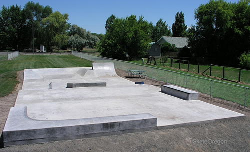 Junction City oregon skatepark