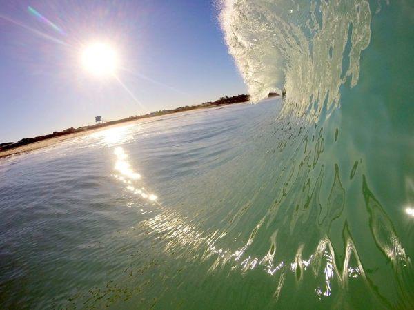 Sun Streak Waves