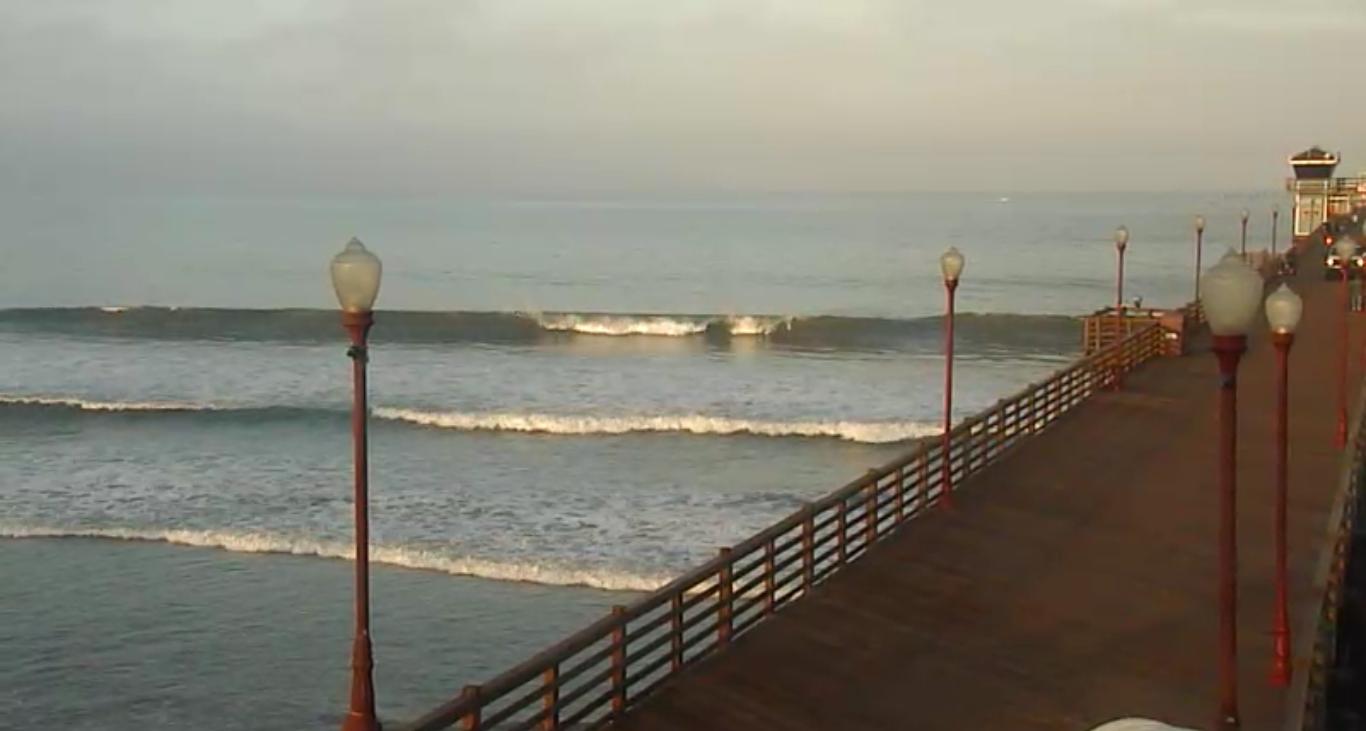 Oceanside Pier Waves