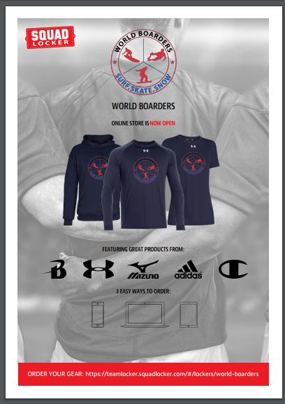 World Boarders Logo Apparel