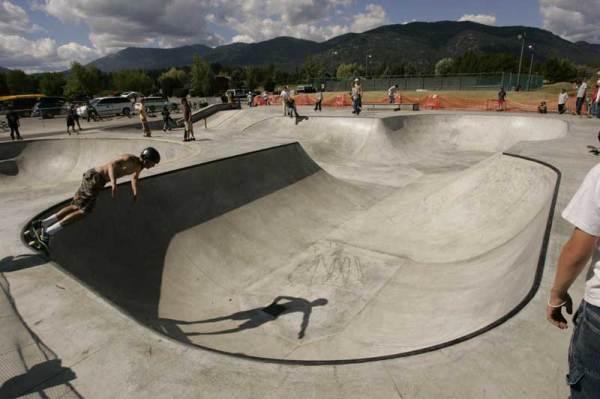 Sandpoint Idaho - Skate Park