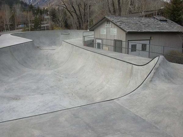Kechum, Idaho skatepark
