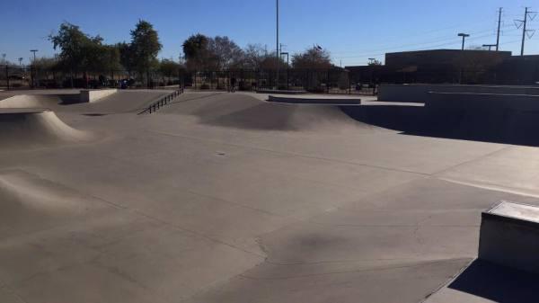 Pecos Skatepark - Phoenix, Arizona