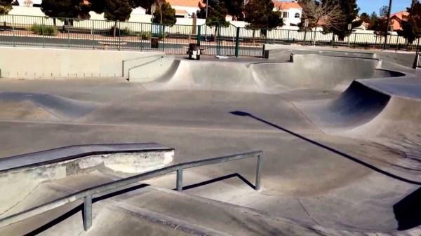 Bunker Skatepark - Las Vegas, Nevada