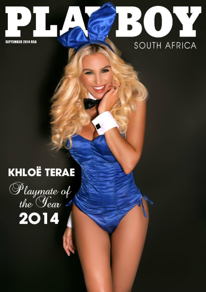 Khloe Terae Playboy South Africa