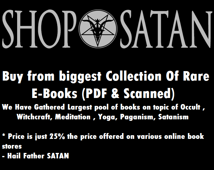 SHOP SATANIC BOOKS