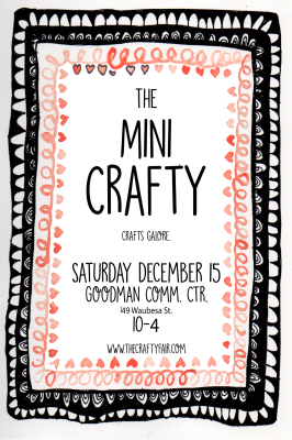 WOO HOO!! A Mini Crafty is coming soon!