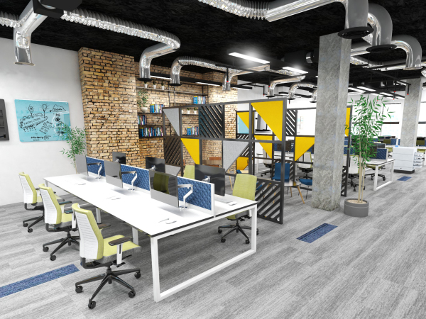 Media office design