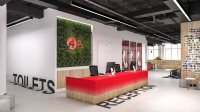 Reception office design