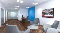 Union Bank reception design