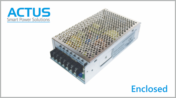 Enclosed AC -DC Power Supply