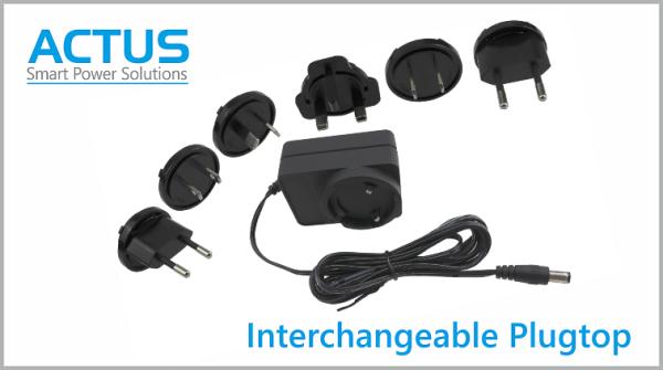 Interchangeable AC Pin PSU