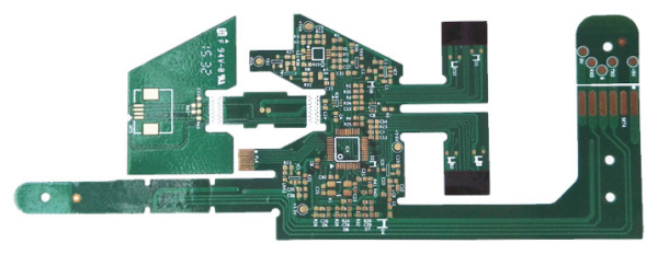 Double-Sided Green Soldermask Flex PCB