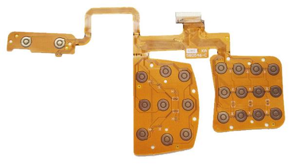 Keypad Flex PCB RGB
