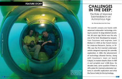 Challenges in the Deep: The Role of Manned Submersibles in an Autonomous Age