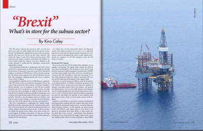 """BREXIT"" What's in store for the Subsea Sector?"