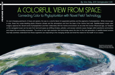 A Colourful View from Space: Connecting Colour to Phytoplankton with Novel Field Technology