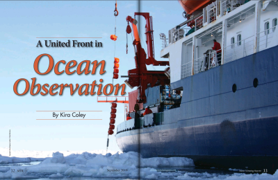 A United Front in Ocean Observation
