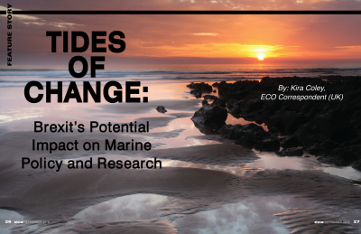 Tides of Change: Brexit's Potential Impact on Marine Policy and Research