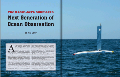 The Ocean Aero Submaran: Next Generation of Ocean Observation