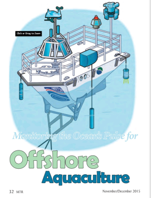 Monitoring the Ocean's Pulse for Offshore Aquaculture