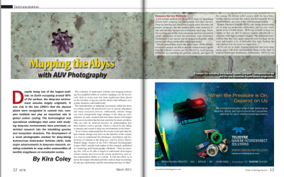 Mapping the Abyss with AUV Photography