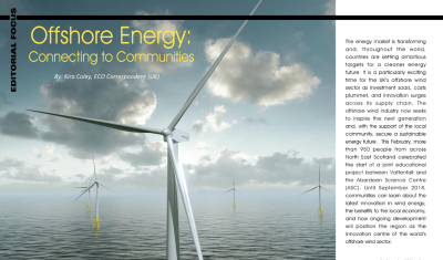 Offshore Energy: Connecting to Communities