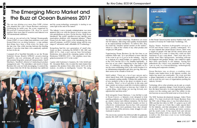 Event Review: Ocean Business 2017