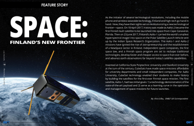Space: Finland's New Frontier