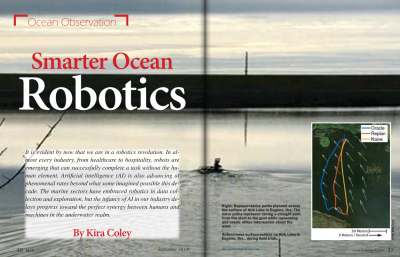 Smart Ocean Robotics