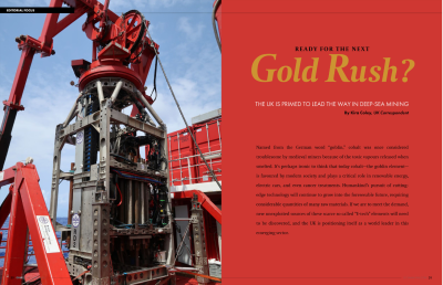 Are you ready for the gold rush?