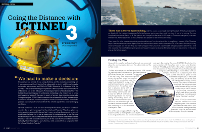 Going the Distance with ICTINEU 3